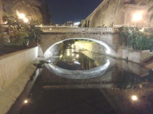 Pont a Sa Riera de Palma (Mallorca)